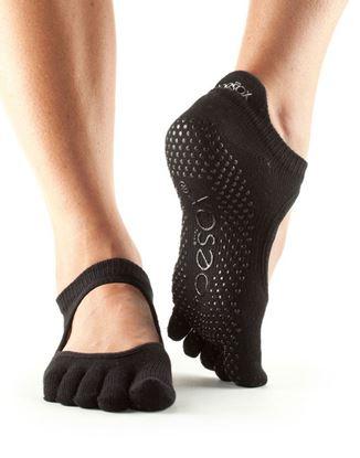 Picture of ToeSox: Full Toe Bellarina Grip Socks