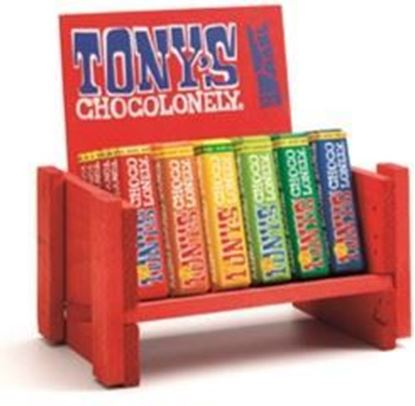 Picture of Tony's Chocolonely Small Bar Wooden Bench (27cm wide)