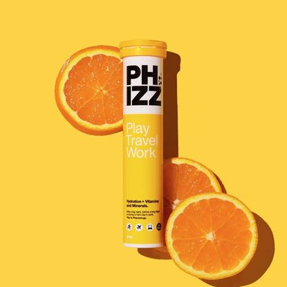 Picture of PHIZZ Electrolyte & Vitamin Tablets (12 x 20 tablet tubes)