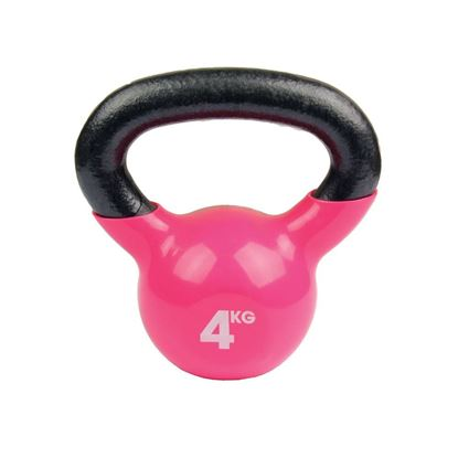 Picture of Mad Fitness: 4Kg Pink Kettlebell (FKETTLE4)