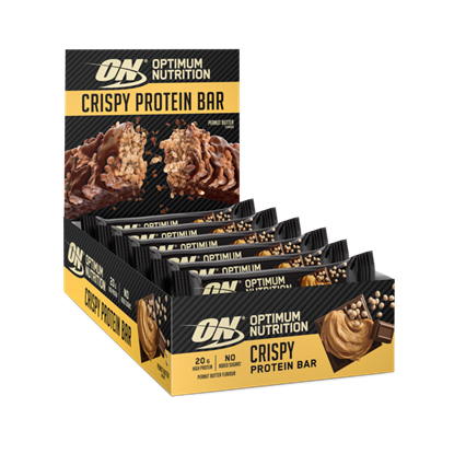 Picture of Optimum Nutrition Crispy Protein Bars - 10 x 65g