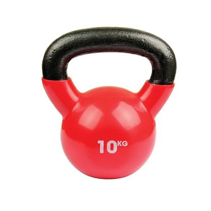 Picture of Mad Fitness: 10kg Kettlebell - Raspberry Red (FKETTLE10)