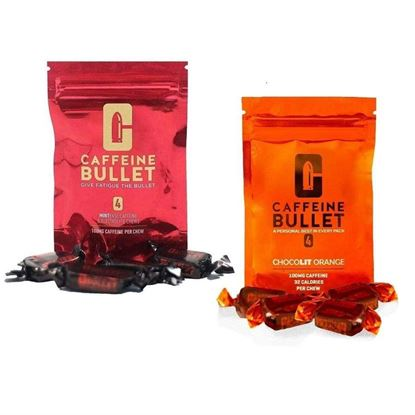 Picture of Caffeine Bullet (20 packs of 4 chews)