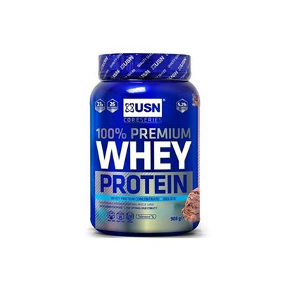 Picture of USN 100% Whey Protein Premium - 908g